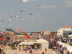 The Kite and Wind Festival - France-Voyage.com