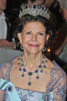 Queen Silvia Photos Photos: Nobel Banquet - Stockholm                                                                                                                                                                                 More
