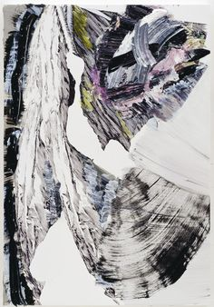 Pia Fries, fahnenbild e1, 2012, Oil paint and silkscreen on wood