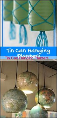 Diy Crafts Vintage, Hanging Planters, Tin, Canning, Home Decor, Garden Box Raised, Decoration Home, Room Decor, Home Canning
