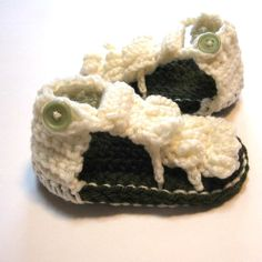 6 to 12 month summer sandals.  Adorable.  : )