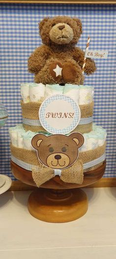 Teddy Bear  Baby Shower Party Ideas | Photo 7 of 22