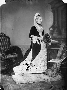 Jane Sym (wife of Canada's second Prime Minister, Alexander MacKenzie) 1878