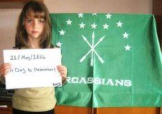 1864 Circassian girl