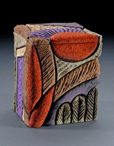 ceramic artist Deb LeAir. Okay--I know it's not PC, but I just love looking at it. It inspires me.