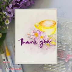 #stamplorations #coffeethankyou #juhishandmadecards Handmade Cards, Tableware, Cover, Projects, Art, Craft Cards, Log Projects, Art Background, Dinnerware