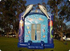 Giant Ariel Bouncy Castle