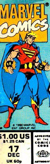 Marvel corner box art - Damage Control (Quasar)