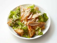 Lightened Up Chicken Caesar Salad