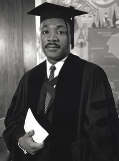 Martin Luther King Jr. B.A. in Sociology, Morehouse College, Class of 1948.