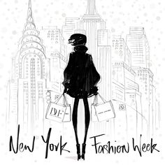 Baby it's COLD outside! But that won't stop New Yorkers! NY Fashion week has just officially kicked off. Let the amazing 'coat action' begin. @mbfashionweek