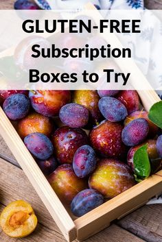 Gluten-free subscription boxes grow in popularity