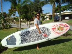 Custom Paddleboard from USA to France!