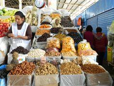 cusco market- love the detail