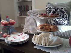 my Tea Party for Mother's Day