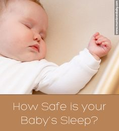 Is your baby sleeping on his back? Make sure you ready this guide on how to sleep your baby safely!