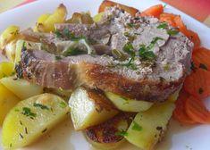 Telecí pečeně s bylinkami recept - TopRecepty.cz Steak, Beef, Food, Treats, Meat, Sweet Like Candy, Goodies, Essen, Steaks