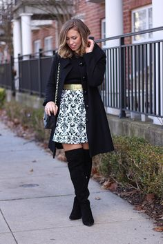 What to Wear to a Holiday Party | Outfit | #LivingAfterMidnite