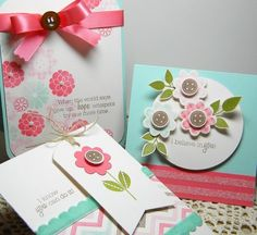 Flower Fusion series... Melissa@JustDandy (This new series avail 1/15/12 Papertrey Ink website) Must Have!