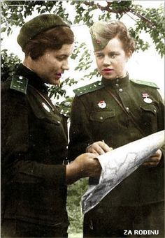Soviet female pilots ww2