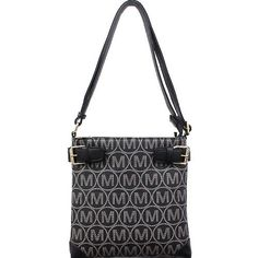 Designer Style M Series Signature CrossBody – Handbag-Addict.com