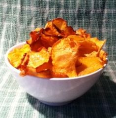 Rutabaga Chips - Use some rutabagas from Crisp Country Acres for these delicious chips!