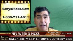 NFL Monday Night Football Pick Betting Previews Week 3 Predictions Odds ...