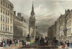 Posts Tagged 'Georgian Merchants' Cheapside, The Gardiners, and Pride and Prejudice, via Jane Austen's World. Cheapside and Bow Church engraved by W.Albutt after T.H.Shepherd publ 1837 edited. The pretty steeple is visible in this image. (wikipedia)