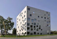 독일 졸버레인 경영&디자인 학교(Zollverein School of Management and Design) / 사나(SANAA). Photo by Iwan Baan, gif by Axel de Stampa