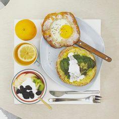 15 個讚,1 則留言 - Instagram 上的 s_s(@s_s_o_o_s_s_o_o):「 . moooooooooorning sunnnnnnday :-D))) . #goodmorning #morning #breakfast #yummy #goodfood… 」