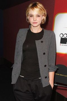 Carey Mulligan - great casual style