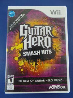 Guitar Hero: Smash Hits (Nintendo Wii, 2009) Guitar Hero Smash Hits - Nintendo