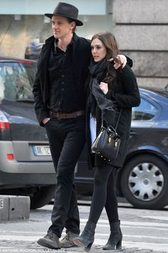 Elizabeth Olsen in Paris with boyfriend