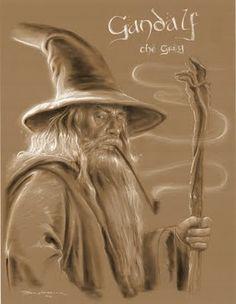 Gandalf the grey by Eric Braddock.