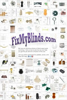 Do It Yourself Blind Repair And Home Window Covering Repair Fix My Blinds Has An