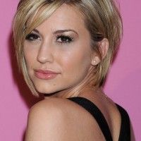 Best Graduated Bob Haircut with Long Bangs from Chelsea Kane