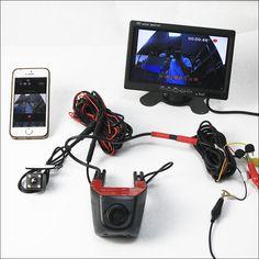 For vw magotan B6 B7 Car Dash Cam APP Control Car Wifi DVR Hidden Installation Novatek 96658 Dual lens Car Black Box Camcorder