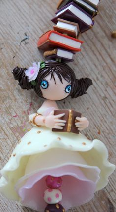 Miss Jane Austen Polymeer clay