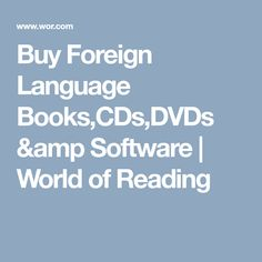 World of Reading, Ltd Foreign Language, Conference, Software, Presentation, Teacher, Amp, Reading, World, Books