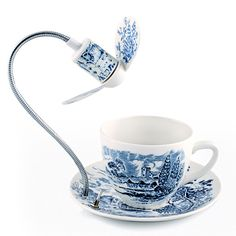 Tea Cup with Cooling Fan by British designer Dominic Wilcox