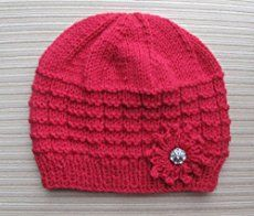 Make a hand knitted hat with one of these super quick and easy free hat knitting patterns. There are so many to try, you can make one for everyone you know!