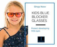 BLUblox Kids blue light blocking glasses. Blue blocker glasses