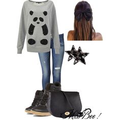 Untitled #24 by miss-bee-fashion on Polyvore