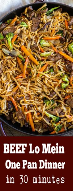 The most delicious Lo Mein of your life! Beef adds so much flavor to this dish! The most delicious Lo Mein of your life! Beef adds so much flavor to this dish! Asian Recipes, Beef Recipes, Chicken Recipes, Cooking Recipes, Healthy Recipes, Ethnic Recipes, Chinese Food Recipes, Chinese Desserts, Pasta Recipes