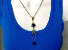 Vintage style black beauties by lastingattachments on Etsy