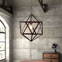 Lowest price online on all Zuo Amethyst Ceiling Lamp in Small Rust  - 98241
