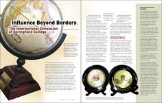 I like the way that the text was bolded in the picture to push it put yet give emphasis on the picture. I will try to use the technique of bolding texts while placing it on pictures. Springfield College, Feature Article, Magazine Articles, Graphic Design, Texts, Pictures, Photos, Captions, Visual Communication