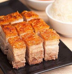 Crispy Pork Belly Lechon Kawali Recipe | Panlasang Pinoy Recipes