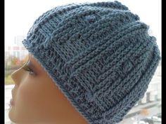 Рельефная шапочка крючком 1часть (relief cap crochet) - YouTube