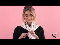 How to tie a classic silk scarf - Different Ways to Tie a Scarf: Watch   StyleCaster